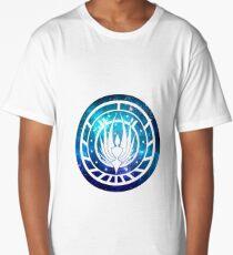 Battlestar Galactica Colonial Seal Long T-Shirt