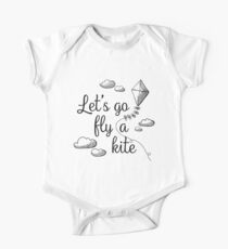 Let's Go Fly A Kite - A practically perfect fan design One Piece - Short Sleeve