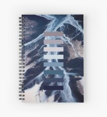 Waves and ocean Spiral Notebook