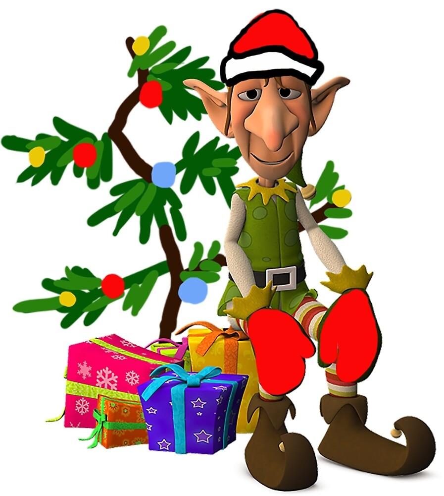 Christmas Elf  by IowaArtist