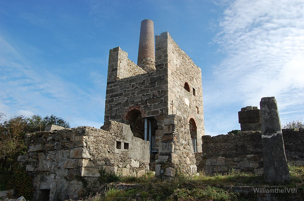 Wheal Peevor Stamps Engine house by WilliamtheIVth