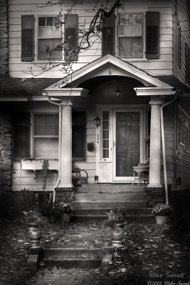 This old house by Michael Savad