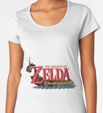 The Legend of Zelda Windwaker Logo Women's Premium T-Shirt