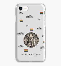 Alex Danvers mood board iPhone Case/Skin