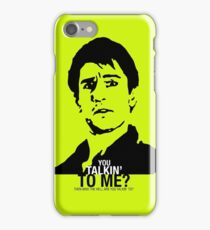 You talkin to me? Taxi Driver iPhone Case/Skin