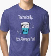 Funny Science Humor Tri-blend T-Shirt
