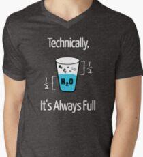 Funny Science Humor Men's V-Neck T-Shirt