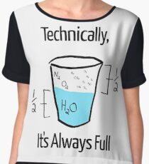 Science is Optimistic Women's Chiffon Top