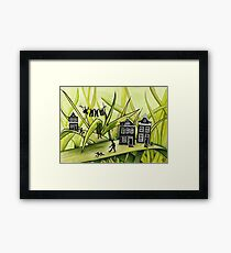 THE GREEN GRASS OF HOME #1 Framed Print