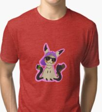 Cool Mimikyu Tri-blend T-Shirt
