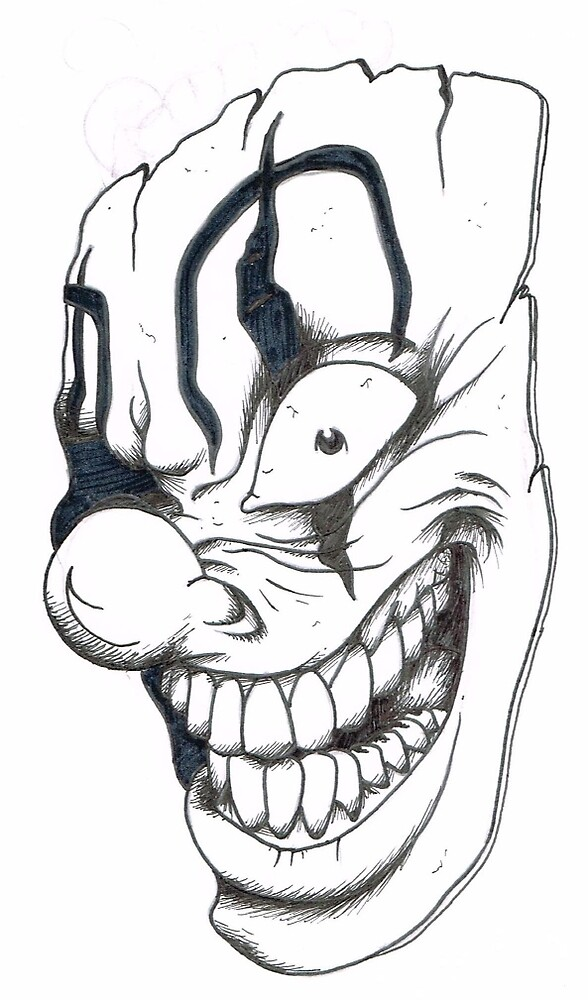 Crazy Clown by deadted