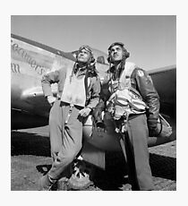 Tuskegee Airmen -- World War II Photographic Print