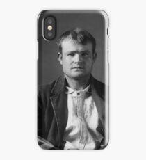 Butch Cassidy Mugshot iPhone Case