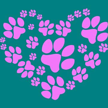 Paws Heart by Younhand