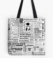 The Office Quotes Graphic Tote Bag