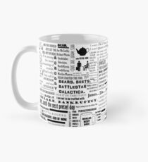 The Office Quotes Graphic Mug