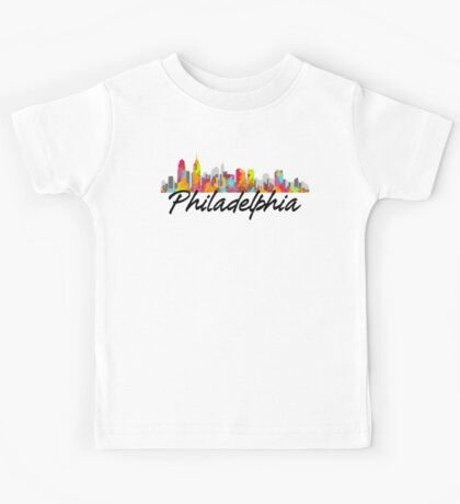 Philadelphia Pennsylvania Skyline Kids Clothes