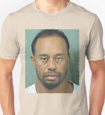 Tiger Woods Mugshot BIG T-Shirt