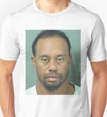 Tiger Woods Mugshot BIG Unisex T-Shirt