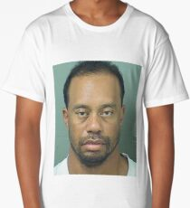 Tiger Woods Mugshot BIG Long T-Shirt