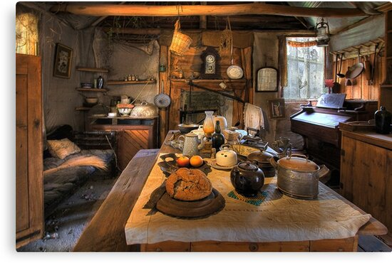 0871 Ned Kelly Home - the kitchen by Hans Kawitzki