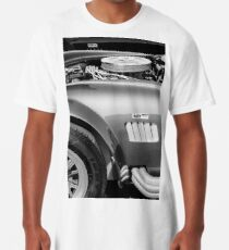 Shelby Cobra 427 Motor -0998bw Longshirt