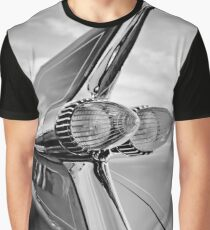 1959 Cadillac Eldorado Taillight- 374bw Graphic T-Shirt