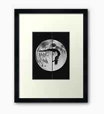 Poletober 16 - Full Moon Framed Print
