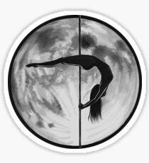 Poletober 16 - Full Moon Sticker