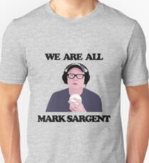 WE ARE ALL MARK SARGENT Slim Fit T-Shirt