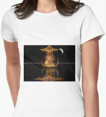 Viking Funeral revised Women's Fitted T-Shirt