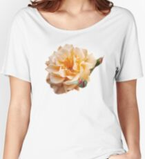 Peachy Petals Women's Relaxed Fit T-Shirt