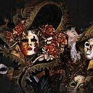 Venice Carnival masquerade, Baroque masks by gameover