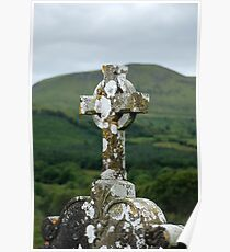 Celtic Grave Marker Poster