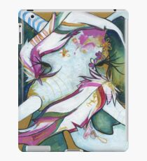 ELEPHANT FEATHERS GOLD and GREEN iPad Case/Skin