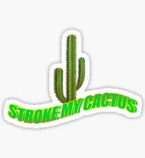 Travis Scott Stroke My Cactus Merch Sticker