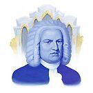 Johann Sebastian Bach - Symphonie in blau von Bach4you