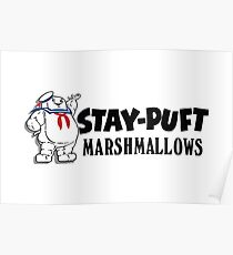 Stay-Puft Marshmallows Poster