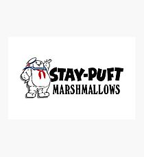 Stay-Puft Marshmallows Photographic Print
