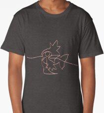 One line Magikarp art Long T-Shirt