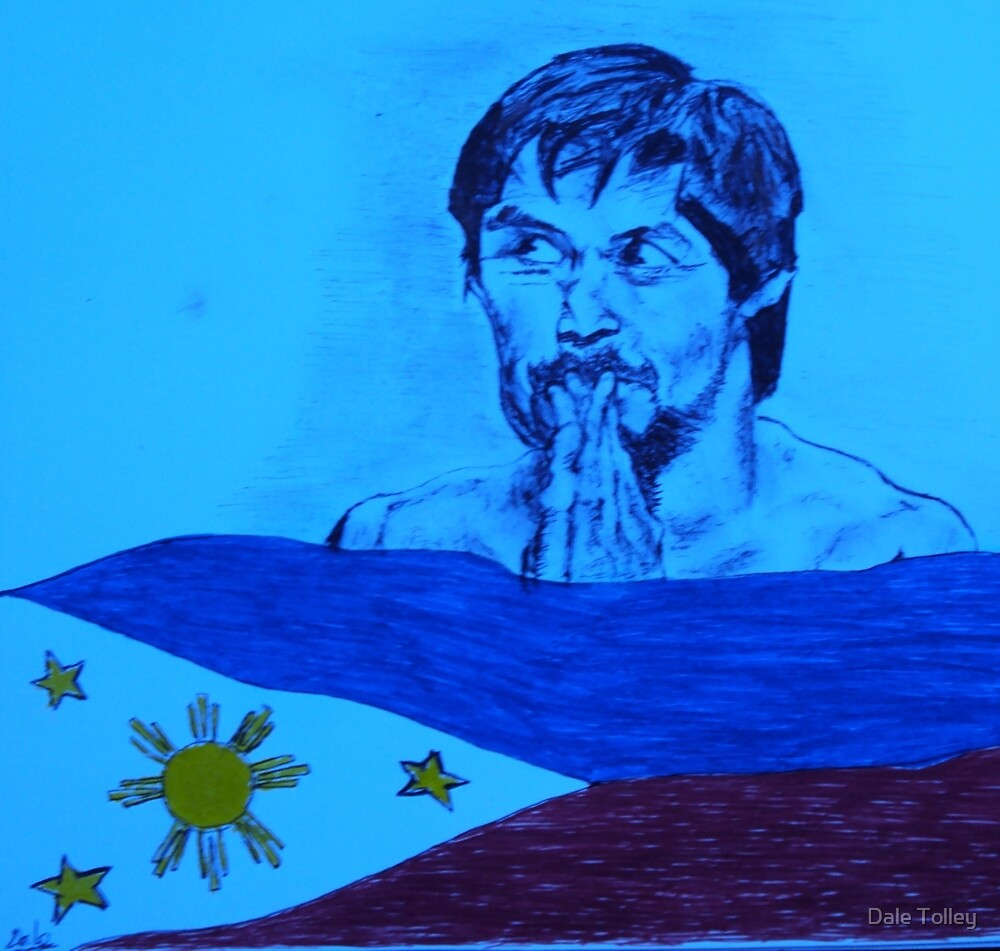 Manny   pacquiao    by Dale Tolley