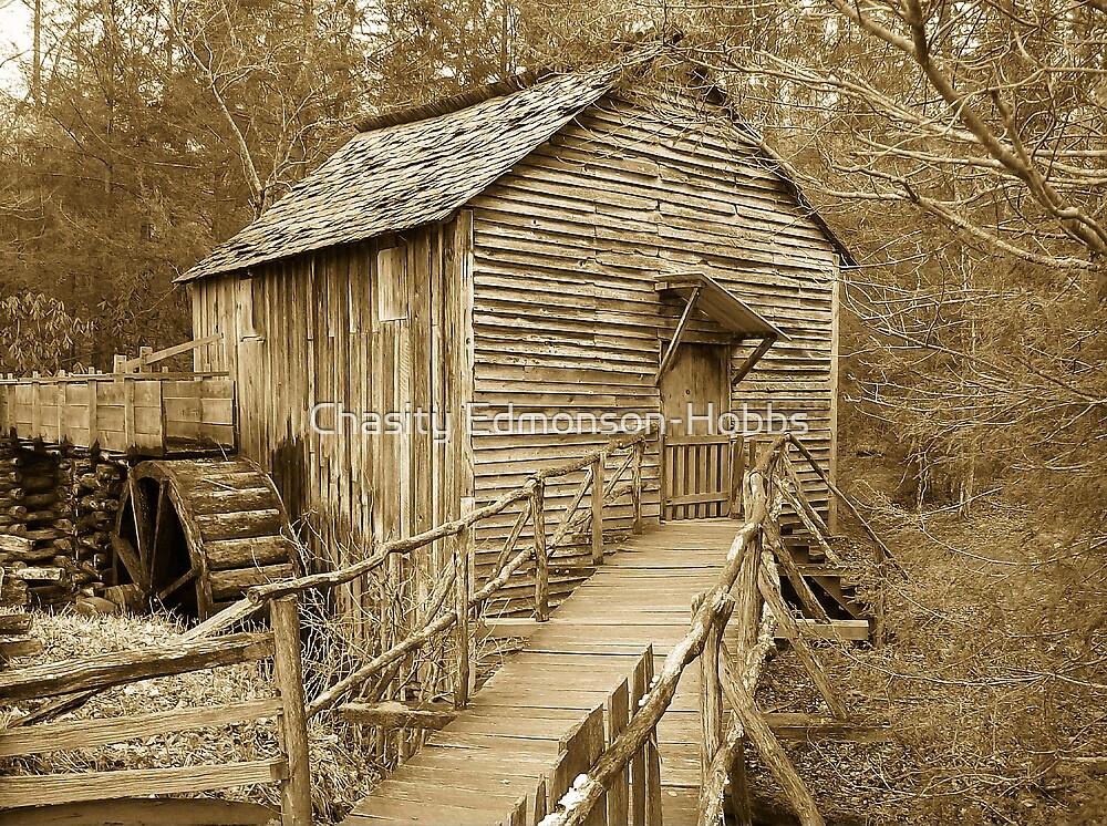 Mill in Sepia by Chasity Edmonson-Hobbs