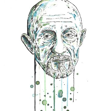 Mike Ehrmantraut by CalumMargetts