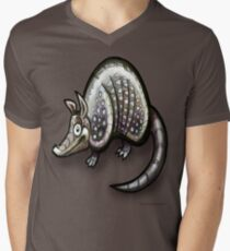 Armadillo Men's V-Neck T-Shirt