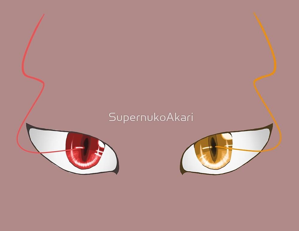 Akashi Seijuro's eyes by SupernukoAkari