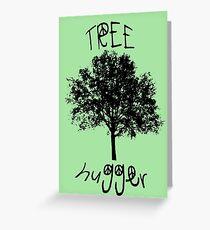 Tree Hugger Peace Greeting Card