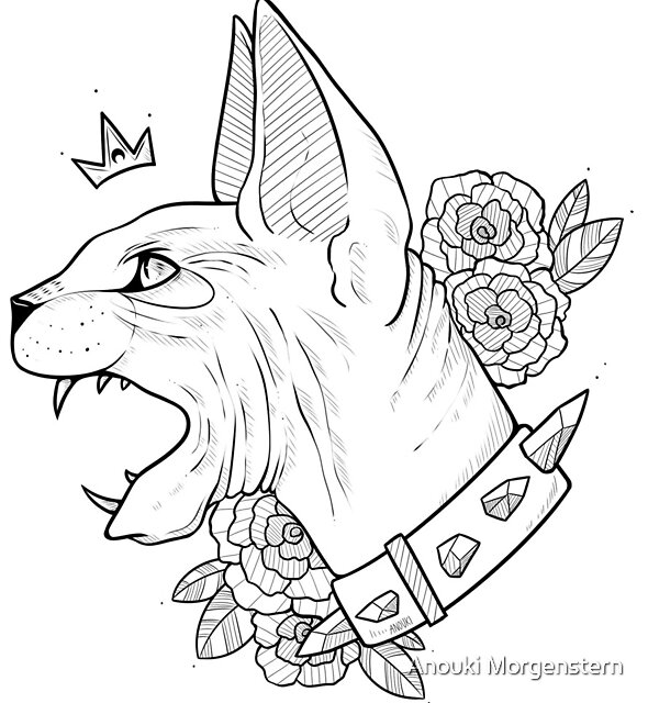 King Sphynx by Anouki Morgenstern