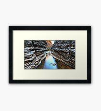 Joffre Gorge Karijini National Park Framed Print