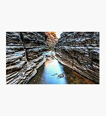 Joffre Gorge Karijini National Park Photographic Print