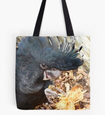 Did You Bring The Preening Equipment? - Black Red Tailed Cockatoo Tote Bag